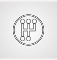 gearbox icon sign symbol vector image vector image