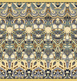 seamless ethnic patterns vector image