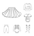 wear and child symbol vector image