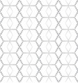 abstract seamless pattern stylish dotted line vector image vector image