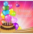 Birthday Day Card vector image vector image