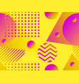 geometric seamless pattern with liquid gradient vector image vector image