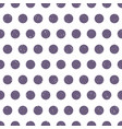 grungy purple polka dots background vector image