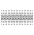 license shape halftone effect vector image