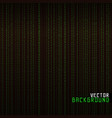 Matrix background vector image vector image
