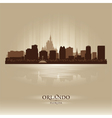Orlando florida skyline city silhouette vector | Price: 1 Credit (USD $1)