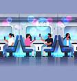 passengers using smartphones social network 5g vector image vector image