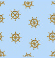 seamless pattern gold wheels vector image vector image