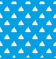 turd pattern seamless blue vector image vector image