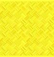 yellow seamless abstract diagonal stripe mosaic vector image vector image
