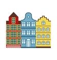 European houses vector image