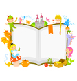 fairytales characters vector image