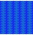 Wave geometric seamless pattern vector image