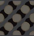 abstract polka dot grid seamless pattern vector image