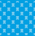chest of drawers pattern seamless blue vector image vector image