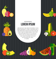Healthy eating concept vector image