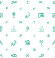 photograph icons pattern seamless white background vector image vector image