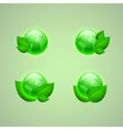 Set of icons for app or web design vector image vector image