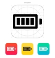 Full charge battery icon vector image
