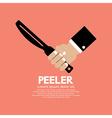 Peeler Kitchen Utensil vector image vector image
