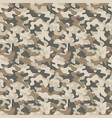 seamless military camouflage pattern vector image