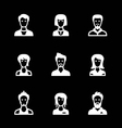 Set icons of people vector image