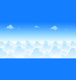 sky day game background vector image vector image