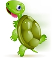 turtle running vector image vector image
