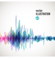 abstract splash of red and blue spots vector image