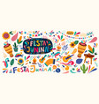 brazil holiday festa junina vector image vector image