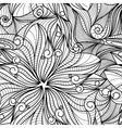 drawing flawers texture vector image vector image