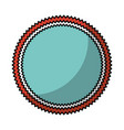 frame seal isolated icon vector image
