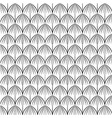 pattern scales with lines vector image