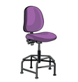 resting chair vector image vector image