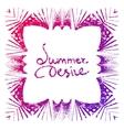 summer desire vector image vector image