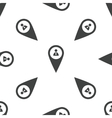 User pointer pattern vector image vector image