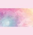 abstract irregular polygonal background pastel