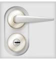 door handle vector image