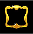 gold frame avatar royal square template for ui