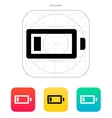 Little charge battery icon vector image vector image