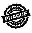 Prague stamp rubber grunge vector image