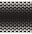 Seamless Black And White Rectangle Halftone vector image vector image