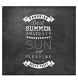 Best Summer Holidays - Calligraphy Design vector image