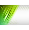 abstract lines green vector image vector image