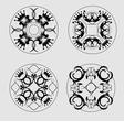 al 0717 tiles 02 vector image vector image