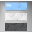 banners and squares Color set vector image vector image
