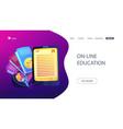 Ebook concept landing page