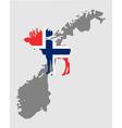 Norwegian moose vector image vector image