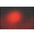 red brown black square mosaic background over vector image