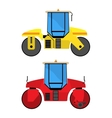 Road rollers vector image